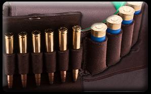 Výrobky z kože - Nábojové pásy