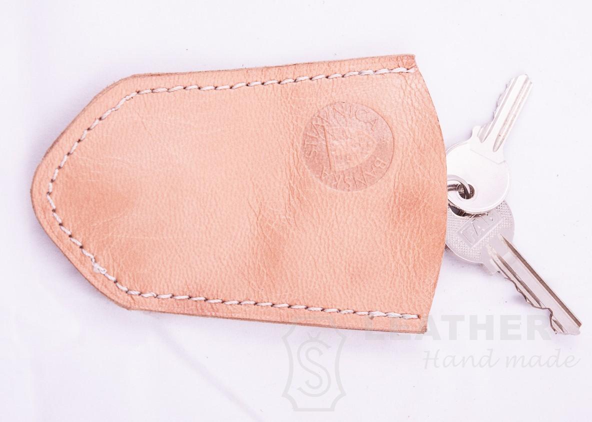 e3a170a7f Kľúčenka jednoduchá - Výrobky z kože